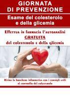 colesterolo glicemia locandina